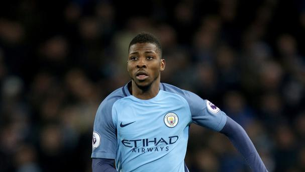 Manchester City's Kelechi Iheanacho spurned a late chance against Stoke