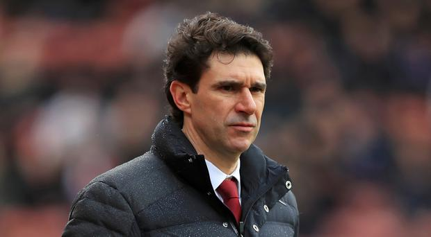 Middlesbrough head coach Aitor Karanka admits he is his own biggest critic