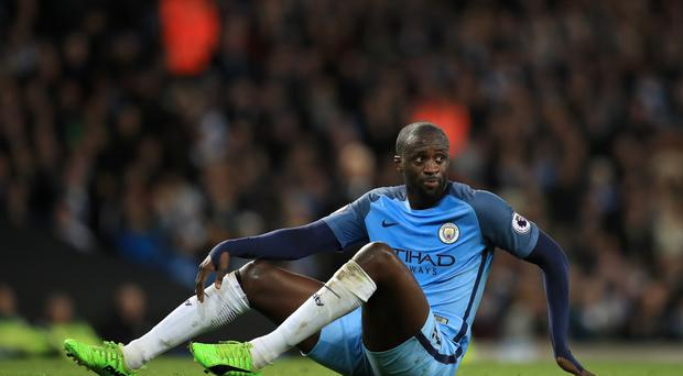 Manchester City's Yaya Toure is expecting tough games against Middlesbrough and Monaco in the coming week