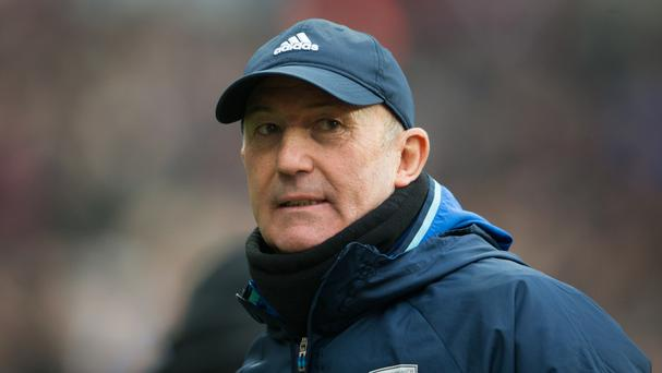 Tony Pulis' West Brom are eighth in the Premier League standings