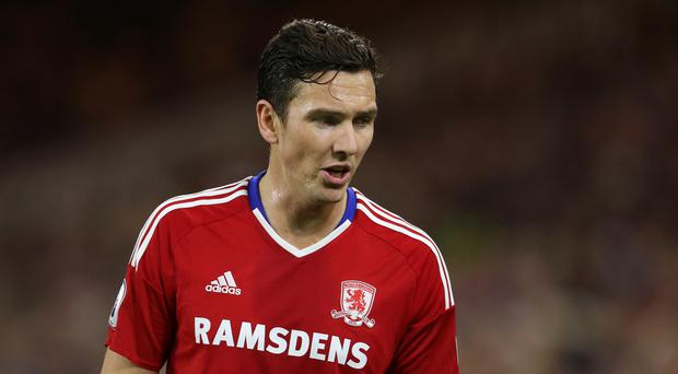 Stewart Downing is determined to force his way back into Aitor Karanka's Middlesbrough team