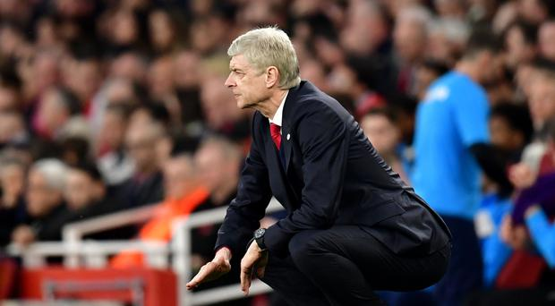 Arsene Wenger has seen his Arsenal side lose five out of their last eight games in all competitions