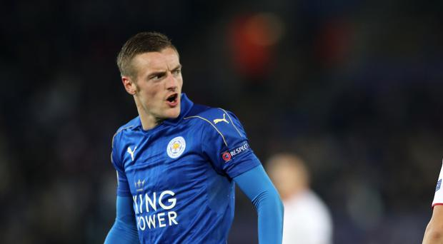 Craig Shakespeare insists Jamie Vardy, pictured, is no cheat