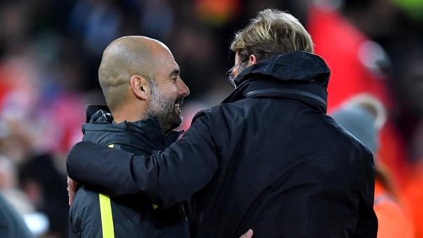 Jurgen Klopp rates Manchester City as 'most hard team to play'