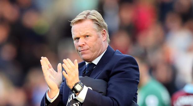 Everton's players are happy at home again, according to manager Ronald Koeman.