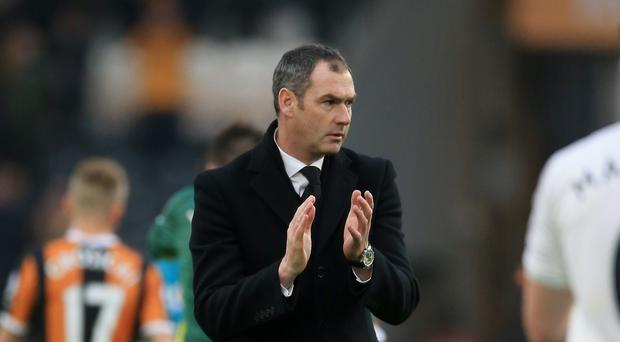 Swansea boss Paul Clement says the pressure is as big at the bottom of the Premier League as it is as his former club Bayern Munich.