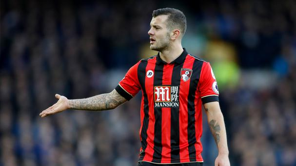 Bournemouth manager Eddie Howe feels Jack Wilshere, pictured, had done enough to earn an England call-up again