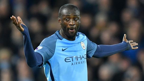 Manchester City midfielder Yaya Toure is out of contract at the end of the season