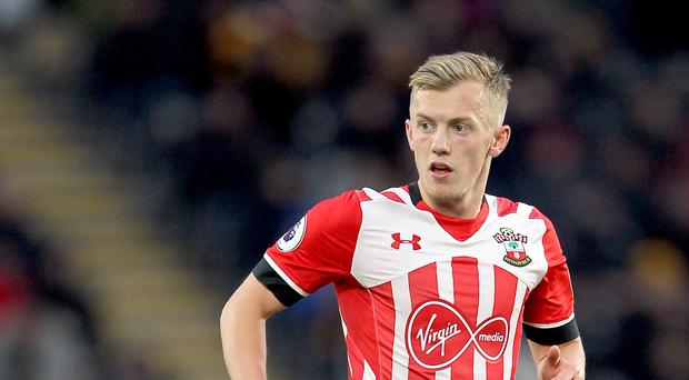 James Ward-Prowse received an England call-up for the first time this week