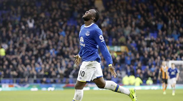 Romelu Lukaku was among the goals as Everton beat Hull