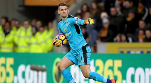 Tom Heaton denied Sunderland a late winner