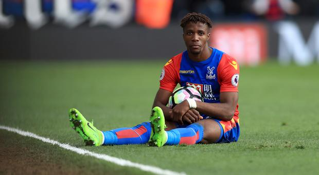 Crystal Palace's Wilfried Zaha impressed in the win over Watford