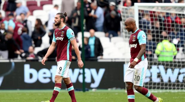 West Ham slumped to a 3-2 defeat against Leicester