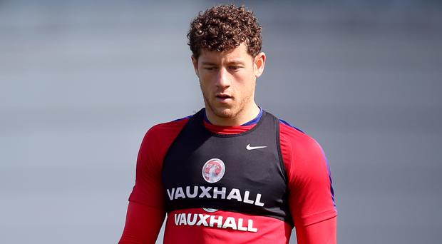 Ross Barkley's England return was restricted to training