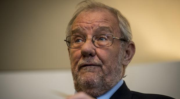 Former sports minister Richard Caborn attending the Players Trust launch reception