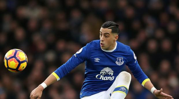 Ramiro Funes Mori was injured in Argentina's defeat by Bolivia