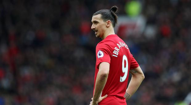 Manchester United's Zlatan Ibrahimovic insists there is no rush over talks about an extended deal