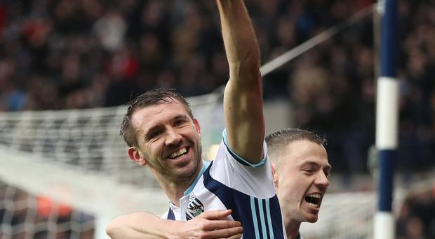 Gareth McAuley has scored seven goals for West Brom this season.