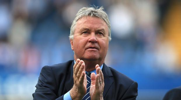 Guus Hiddink says he was offered the Leicester job but turned it down