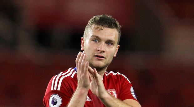Middlesbrough captain Ben Gibson was in commanding form in their 0-0 draw at Swansea