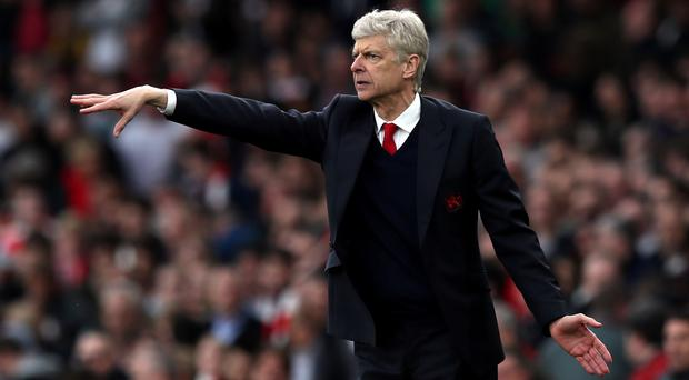 Arsene Wenger was pleased with his team's spirit against Manchester City