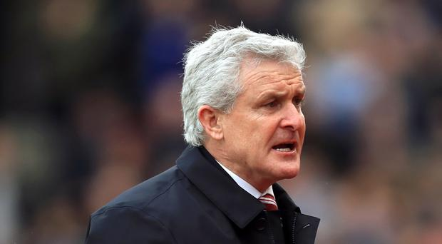Mark Hughes is looking over his shoulder in the Premier League