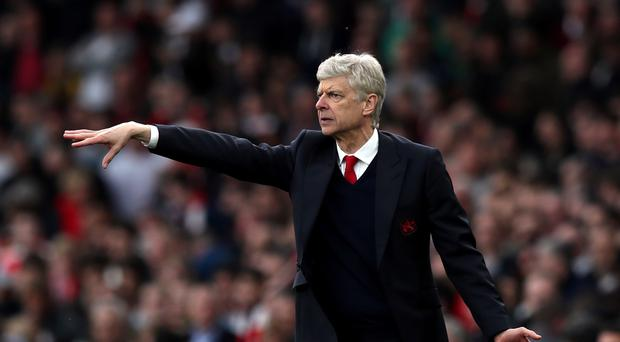 Arsene Wenger has seen his Arsenal side drop to sixth in the Premier League