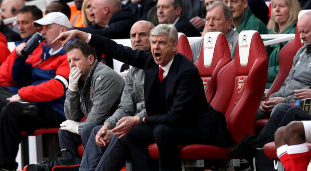 Arsene Wenger's Arsenal have won just three of their last 10 games