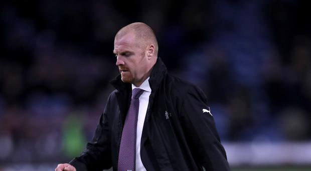 Burnley manager Sean Dyche is breathing a little easier after victory over Stoke