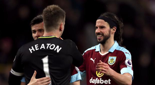 Burnley were able to celebrate an overdue win on Tuesday night