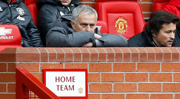 Jose Mourinho saw his team held at Old Trafford yet again on Tuesday