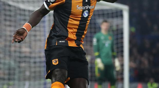 Oumar Niasse was among Hull's scorers in the defeat of Middlesbrough.