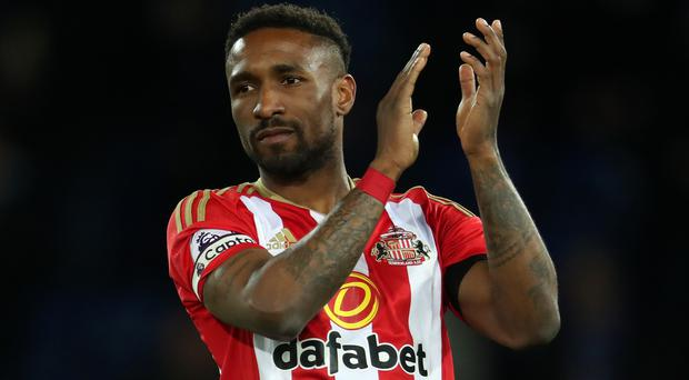 Could Jermain Defoe soon swap his Sunderland shirt for sequins?