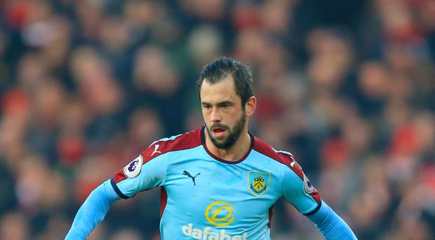 Burnley's Steven Defour is hoping to shake off a thigh injury
