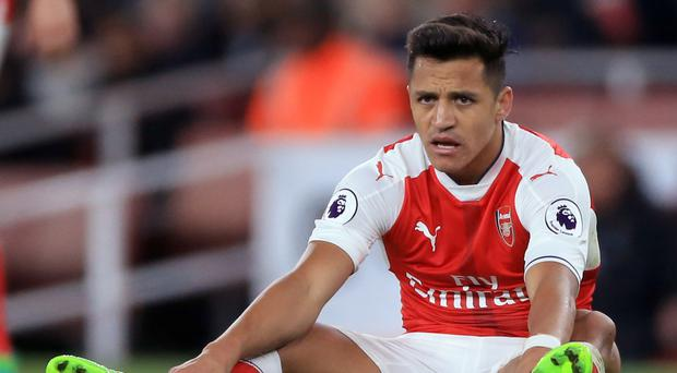 Alexis Sanchez's Arsenal future is unclear