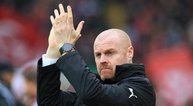 Sean Dyche's Burnley are still to register an away win in the Premier League