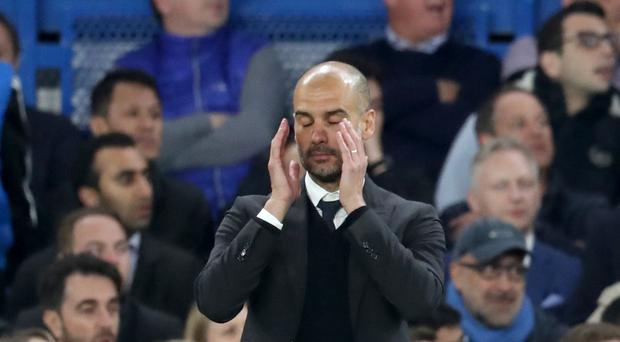 Pep Guardiola has seen some positive signs during Manchester City's disappointing campaign