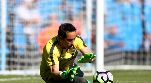 Claudio Bravo returned for Manchester City against Hull