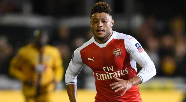 Alex Oxlade-Chamberlain has a little over a year remaining on his Arsenal contract