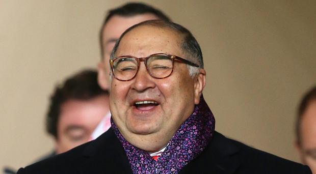 Shareholder Alisher Usmanov, pictured, has launched a defence of Arsenal boss Arsene Wenger