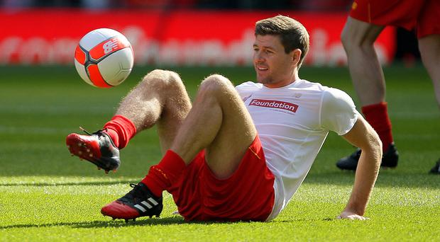 Steven Gerrard is learning the coaching ropes with Liverpool