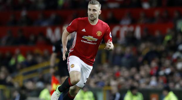 Manchester United's Luke Shaw is back in favour and eyeing European success