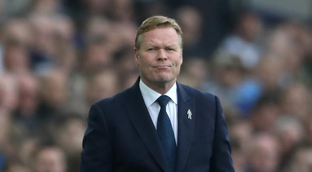 Everton manager Ronald Koeman believes their home form puts doubt in opponents' minds.