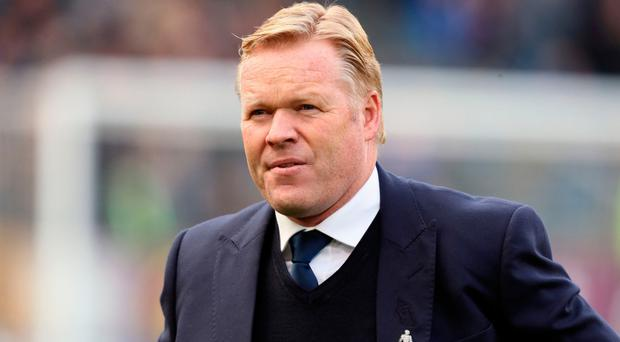 Home comfort: Ronald Koeman loves Goodison Park