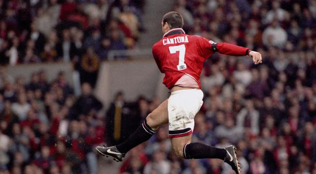 Eric Cantona became the first winner of the PFA player of the year award from outside the UK and Ireland in 1994
