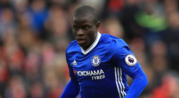 N'Golo Kante has been shortlisted for the PFA award as he closes in on a second straight Premier League title