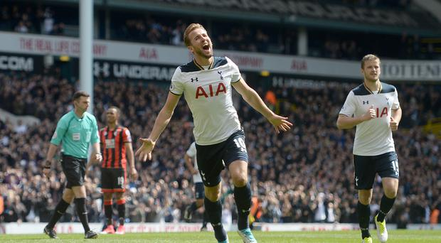 Harry Kane scored as Tottenham strolled past Bournemouth.