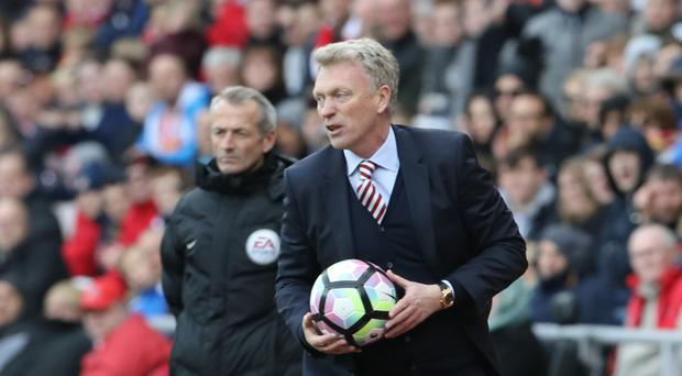 Sunderland manager David Moyes needed a win
