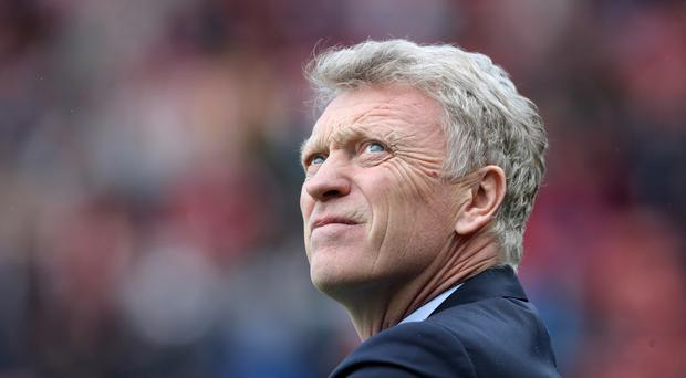 Sunderland manager David Moyes was booed during Saturday's Premier League draw with West Ham