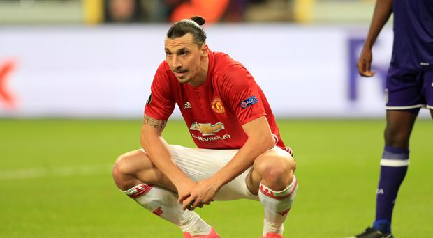 Zlatan Ibrahimovic has already made 44 appearances in a busy first season at Old Trafford